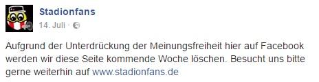 stadionfans facebook