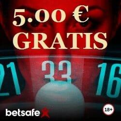 Betsafe 5 Euro Gratis