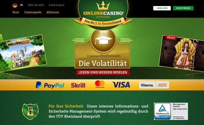 OnlineCasino.de