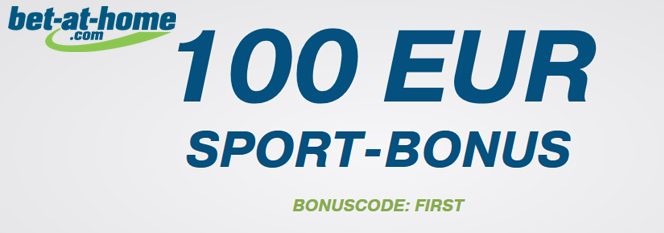 Bet at Home Bonus Banner 100 Euro