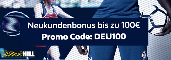 William Hill Bonus Banner 100 Euro