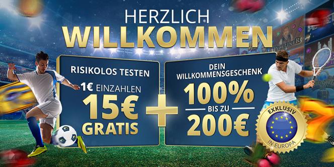 Sunmaker Sportwetten Bonus Banner