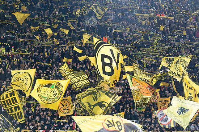 Gelbe Wand in Dortmund